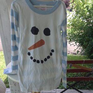 Boys Hanna Anderson Sleep shirt.